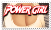 Power Girl Stamp by AndrewJHarmon