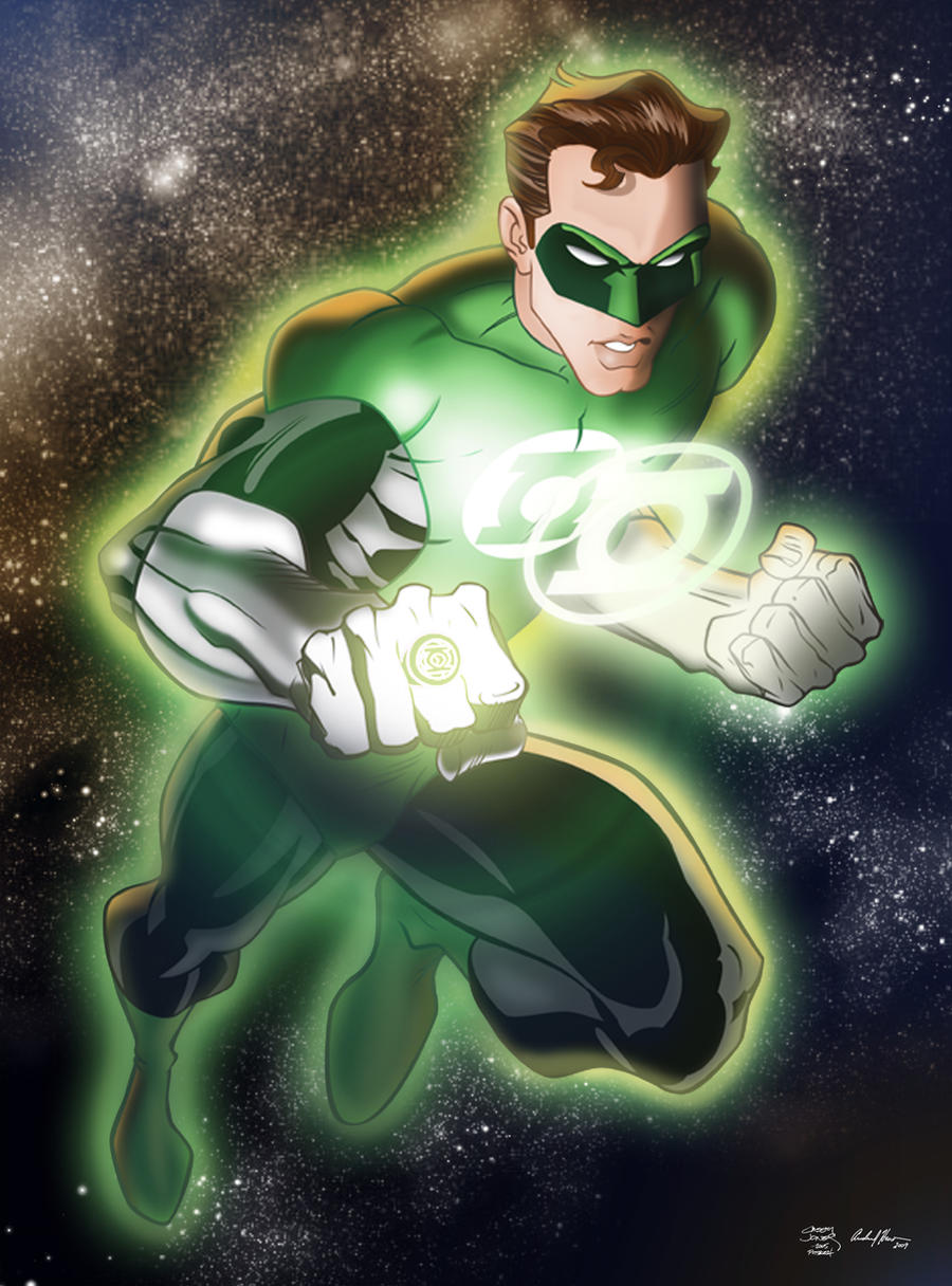 Green Lantern II by AndrewJHarmon