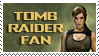 Tomb Raider Fan Stamp by AndrewJHarmon