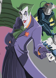 Superfriends Detail - Joker by AndrewJHarmon