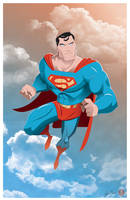 Superman - Trouble by AndrewJHarmon