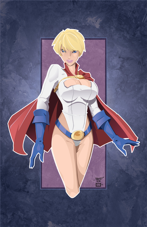 Powergirl by AndrewJHarmon