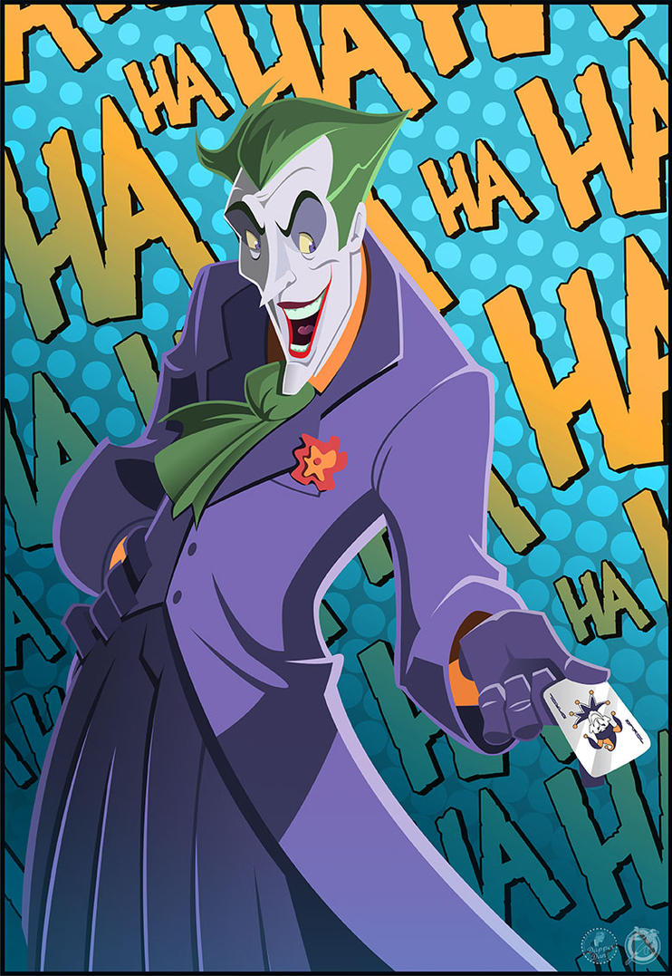 The Joker by AndrewJHarmon
