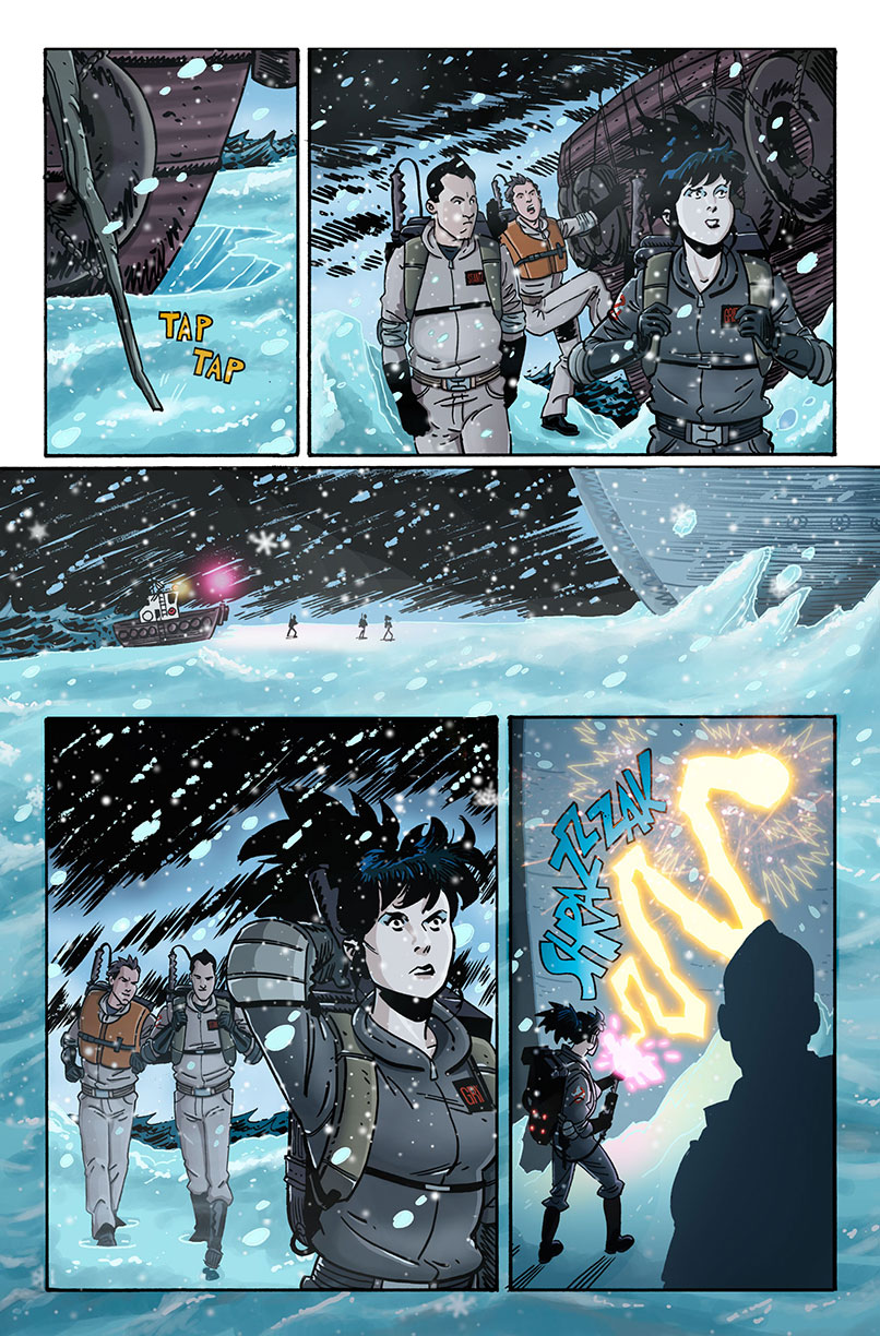 The New Ghostbusters #7 Page 18 by AndrewJHarmon