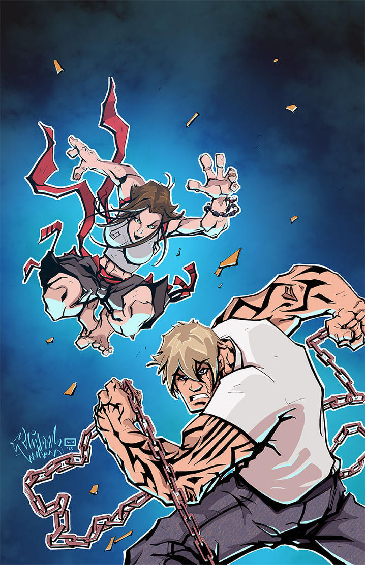 Fugitive Comics #1 Cover Colors by AndrewJHarmon