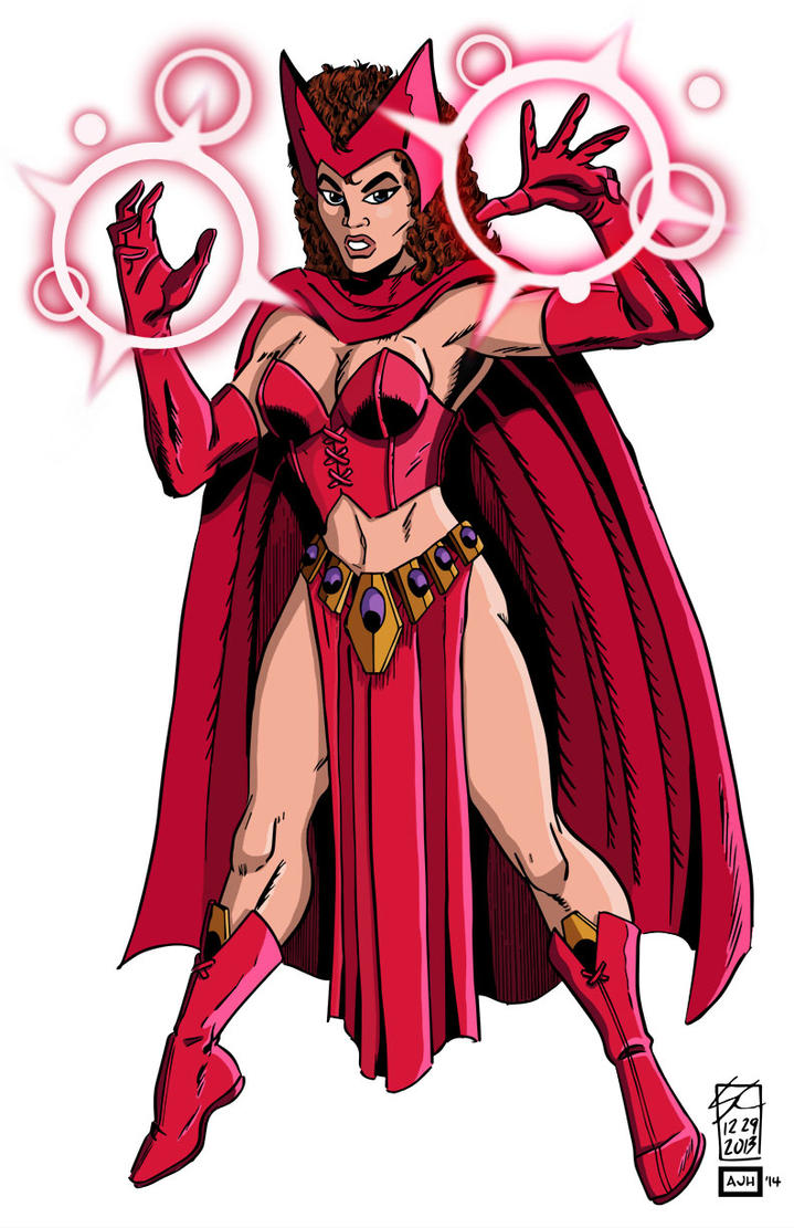 Scarlet Witch by AndrewJHarmon