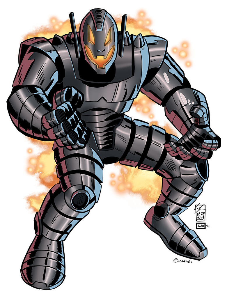 Ultron by AndrewJHarmon