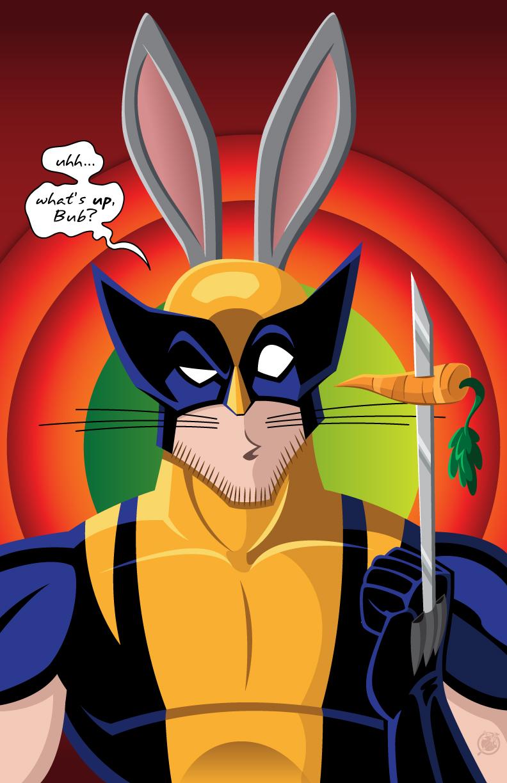 Looney Tunes Wolverine by AndrewJHarmon