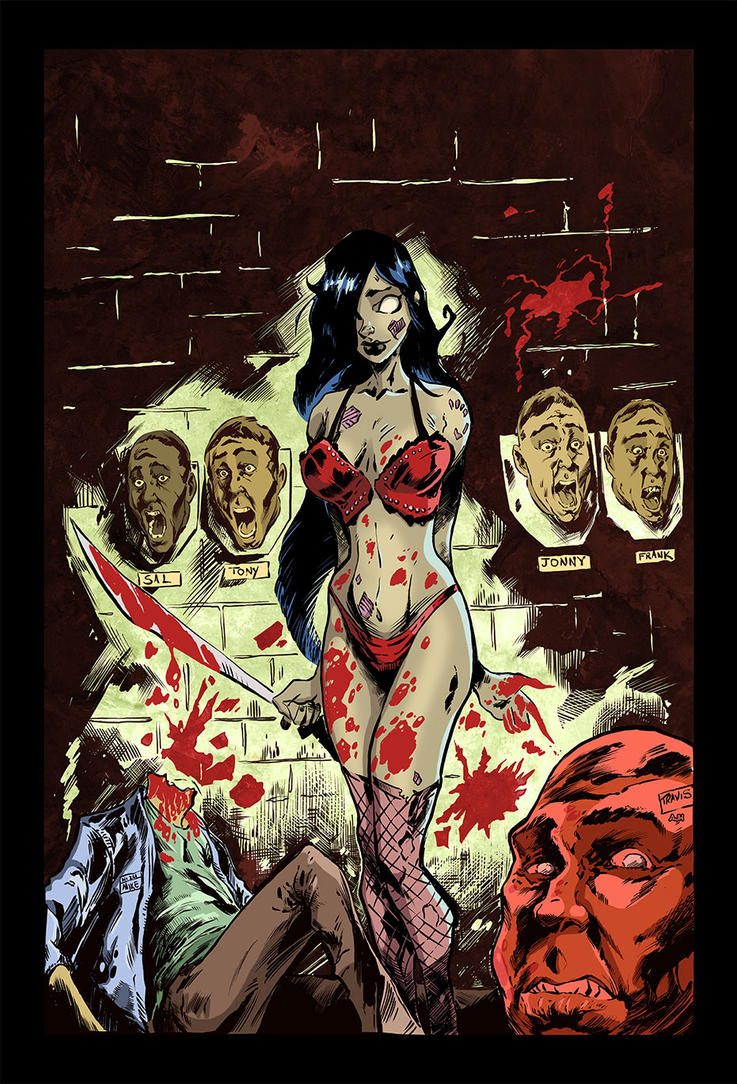 Zombie Tramp Slaughter by AndrewJHarmon