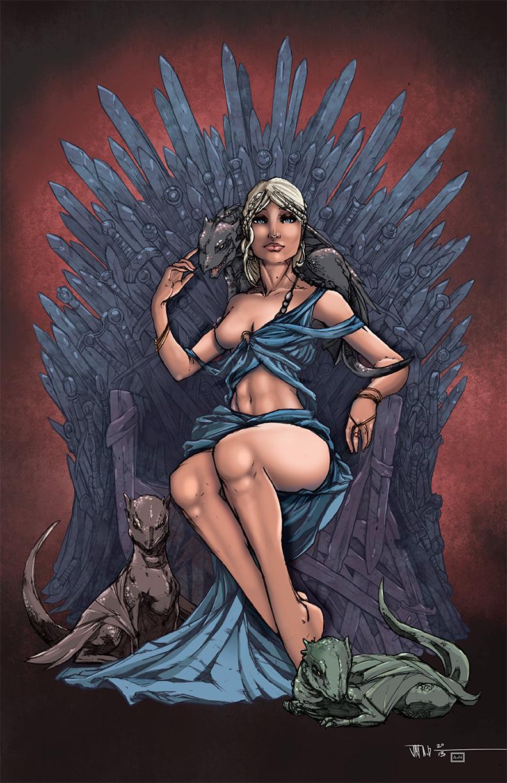 Daenerys Targaryen by AndrewJHarmon on DeviantArt