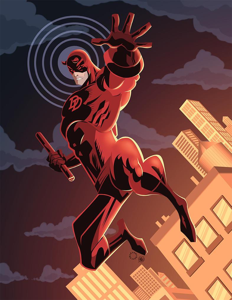 Daredevil by AndrewJHarmon