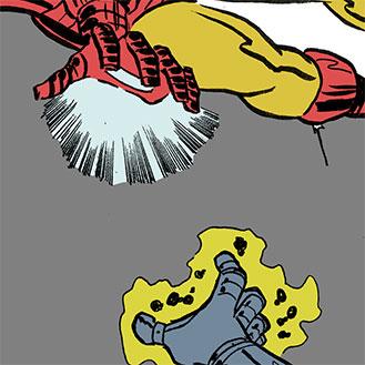 WIP: Iron Man vs Dr Doom by AndrewJHarmon