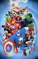 The Avengers by AndrewJHarmon