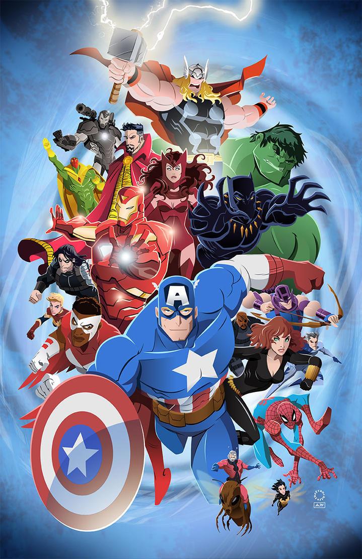 The Avengers by AndrewJHarmon