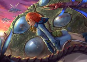Nausicaa fan art by plutus0519