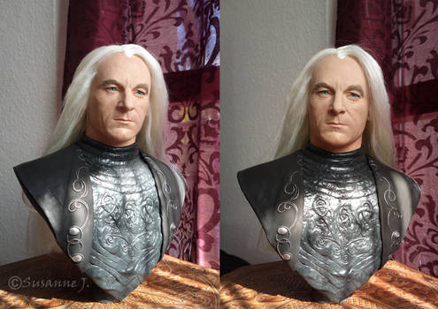 Lucius Malfoy Bust