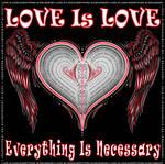 love is love 2D text ravi