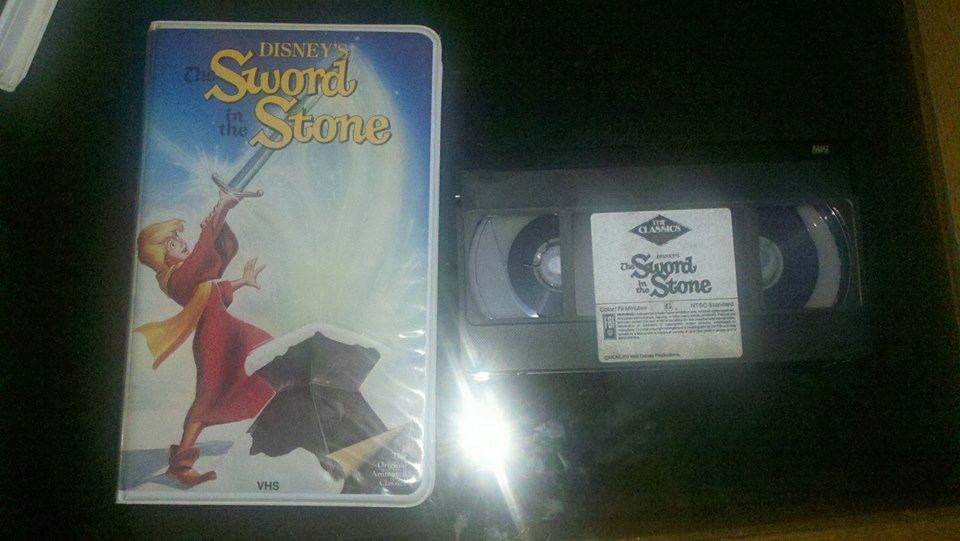 1986 VHS of The Sword in the Stone by NinjaTurtleFangirl ...