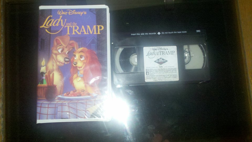 1987 VHS of Lady and the Tramp by NinjaTurtleFangirl on ...