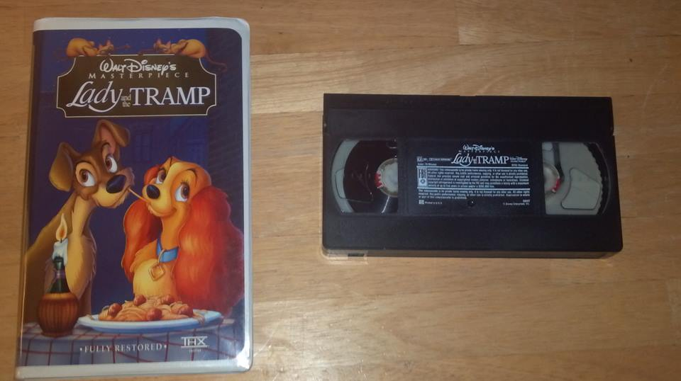 1998 Vhs Of Lady And The Tramp By Ninjaturtlefangirl On Deviantart