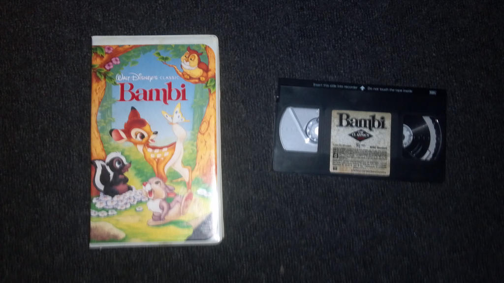 1989 VHS of Bambi by NinjaTurtleFangirl on DeviantArt