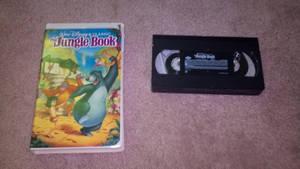 1991 VHS of Jungle Book