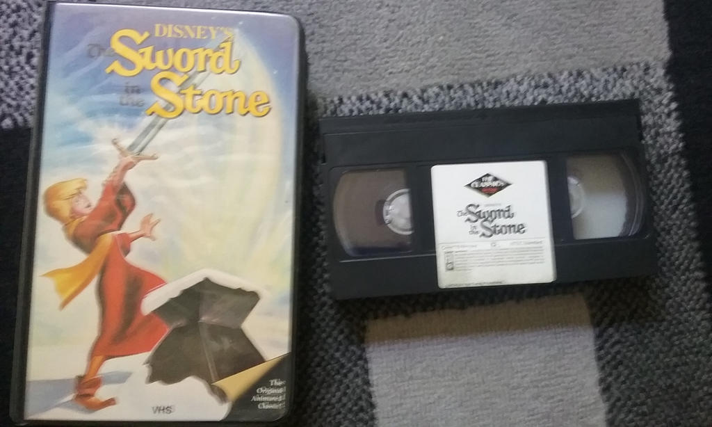 The Sword in the Stone 1986 VHS by NinjaTurtleFangirl on ...