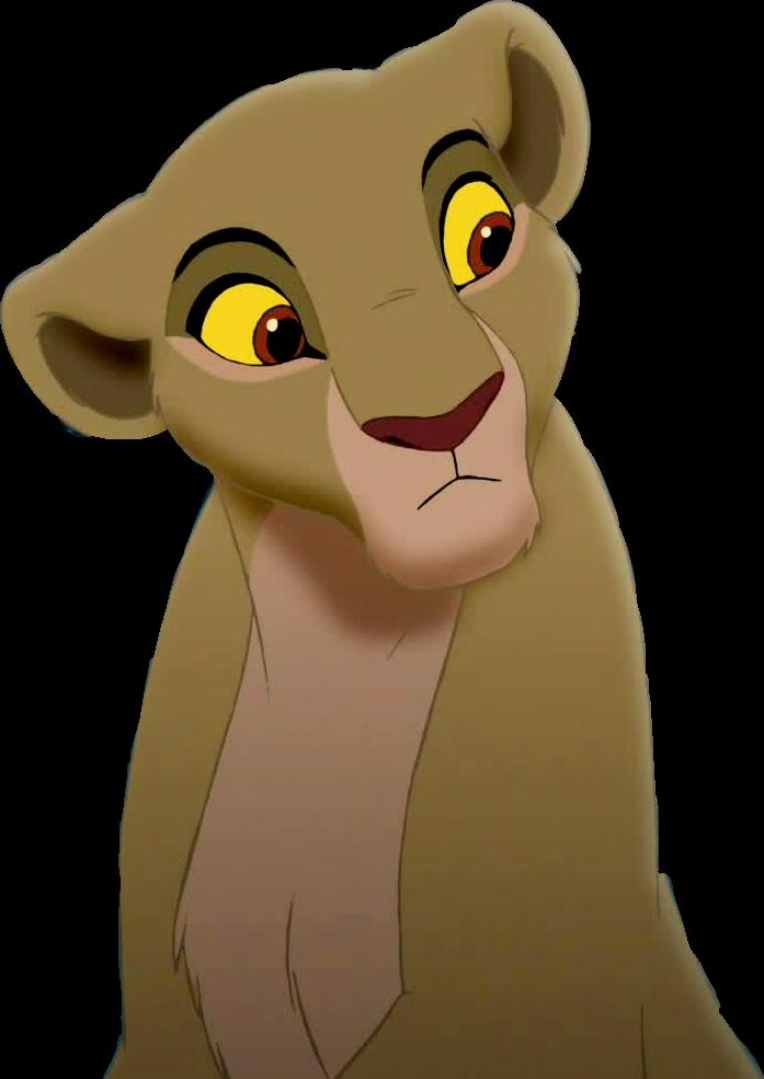 Lion King Kiara Transparent #3 by NinjaTurtleFangirl on
