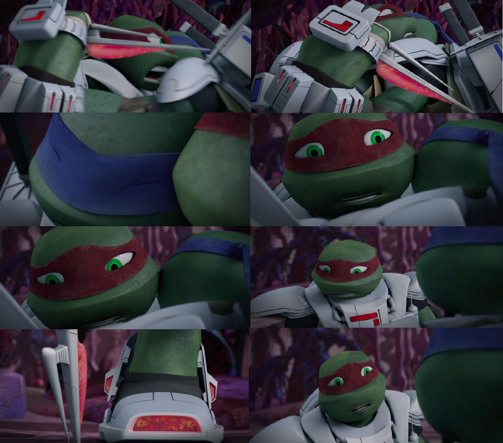 Tmnt Riddle Of The Ancient Aeons Leo And Raph Hug By