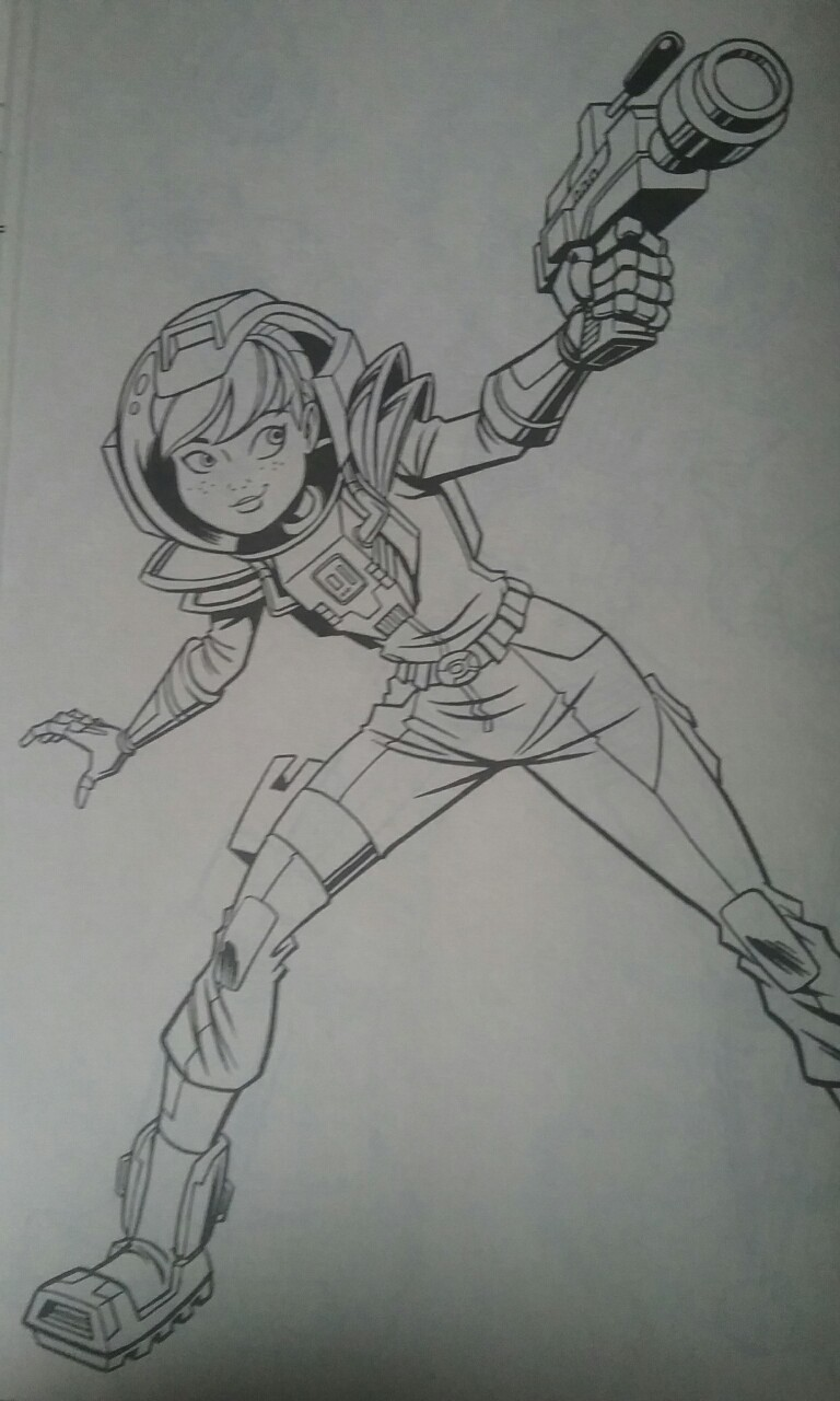 girl ninja turtles coloring pages - photo#37