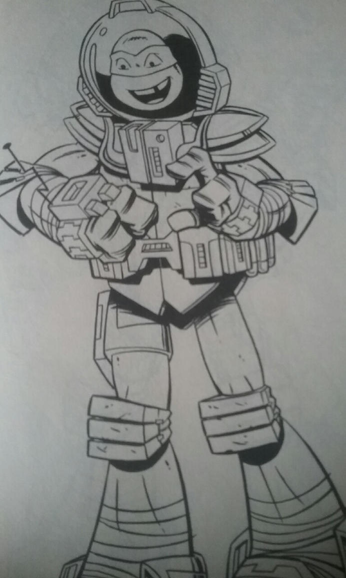 Tmnt Leo Coloring Pages
