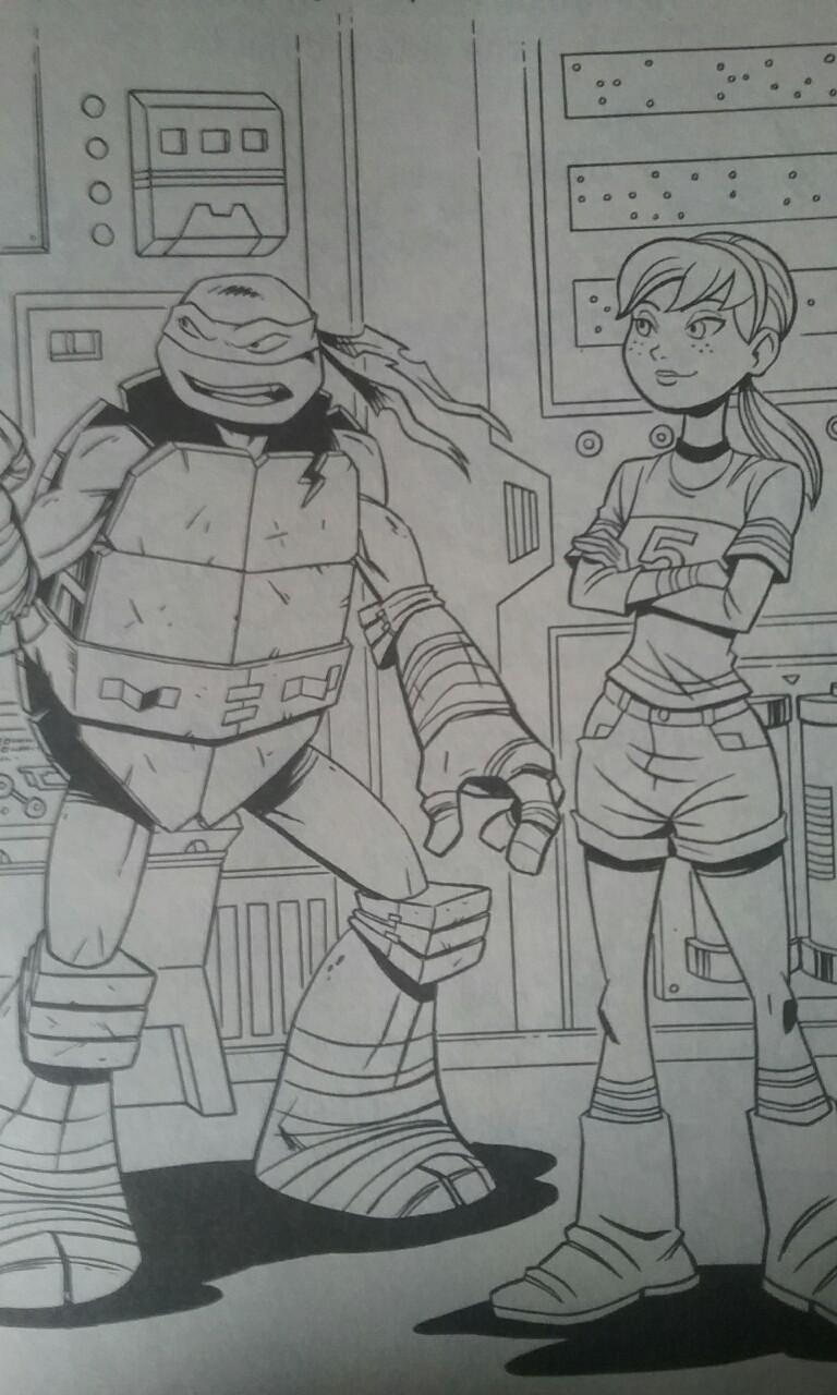 tmnt coloring pages raph 2012 - photo#32