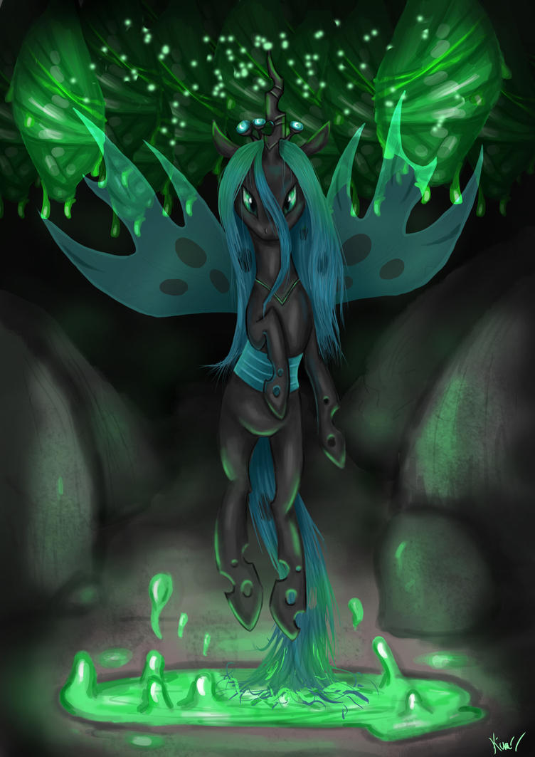 Rise of Queen Chrysalis by Zackira