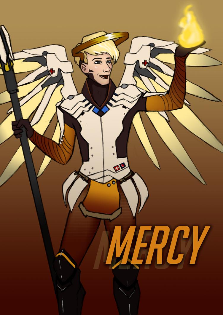 Mercy Genderbent by Zackira