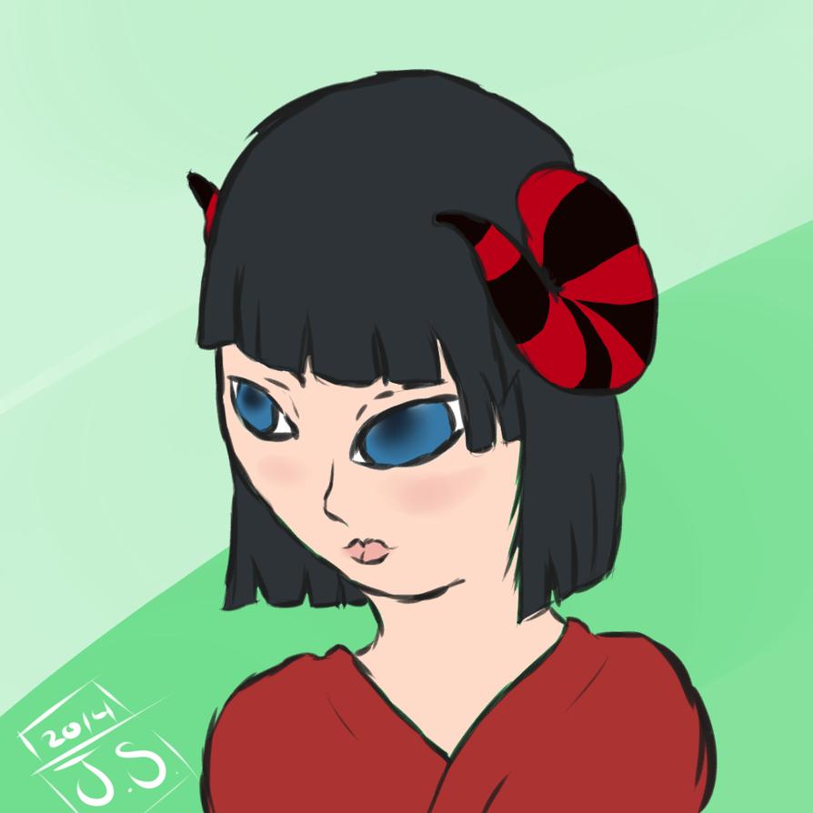 Drawn to adopt, Salia by Jade-Merciful