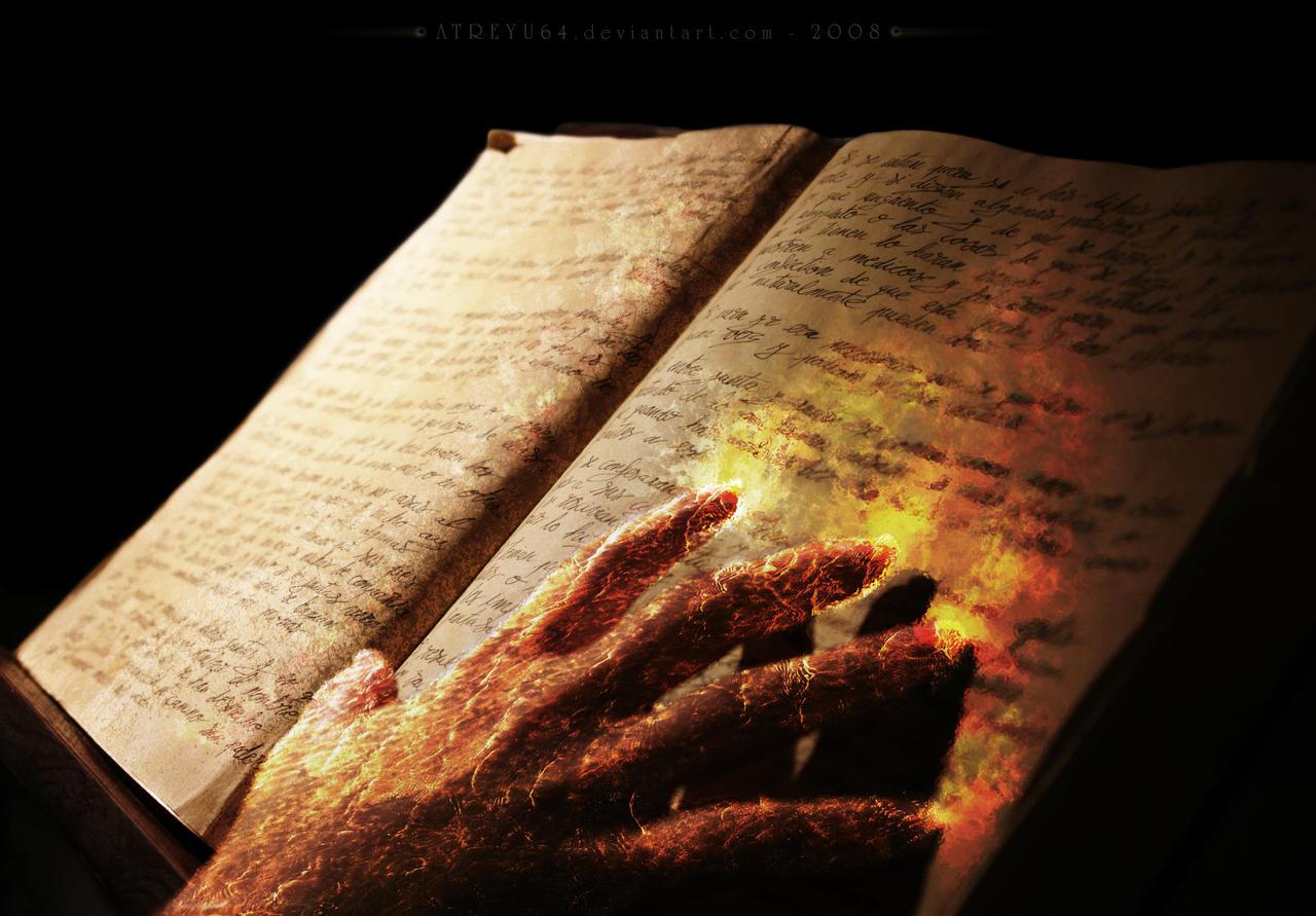 Les chroniques de Dark Melodias  Spellbook___Fire_Chapter_by_atreyu64