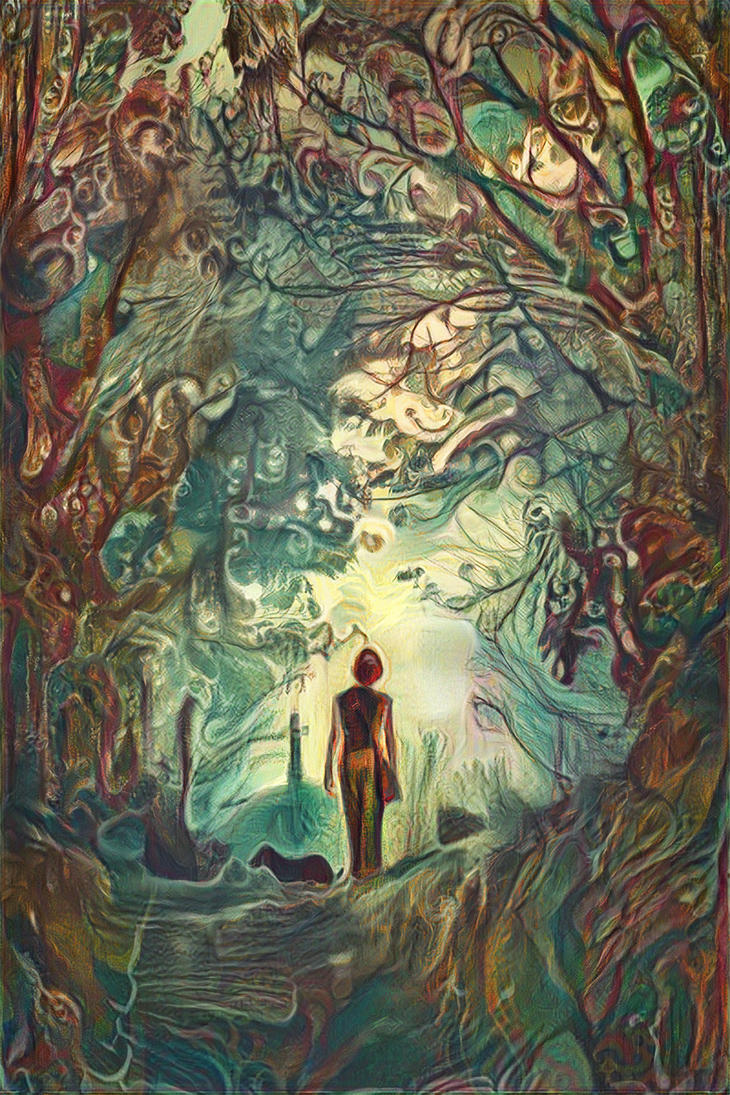 Neural Style Transforest by atreyu64