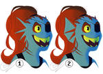 Undyne VOTE by Comictoon
