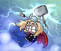 Thor by dancedancehappyfeet