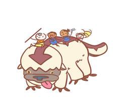 Avatar Gang by dancedancehappyfeet