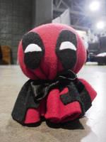 Deadpool Bozu by dancedancehappyfeet