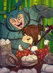 Eat All the Steam Buns!!! by dancedancehappyfeet