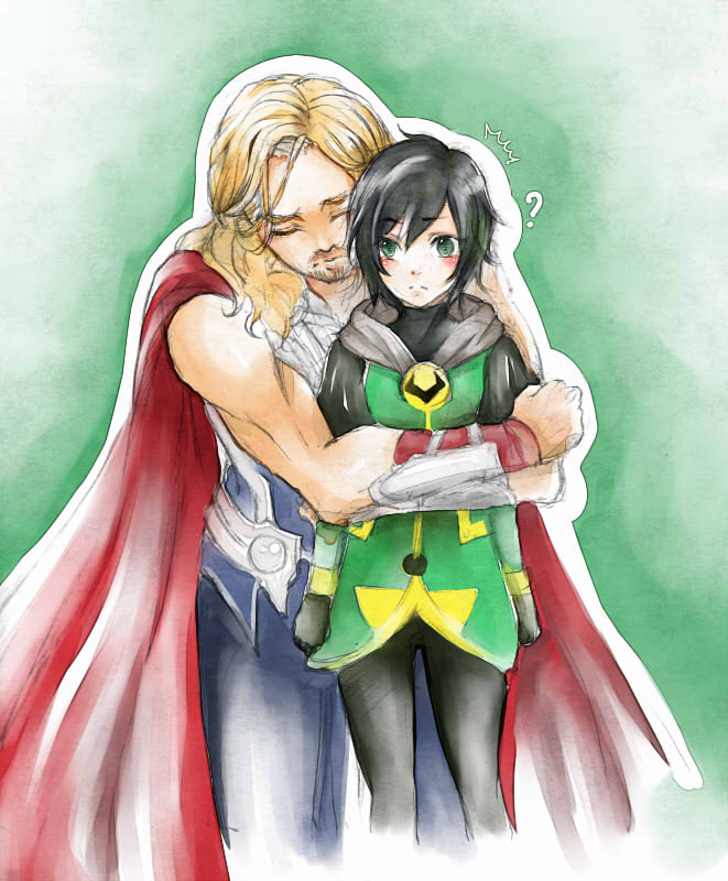 Thor x Kid Loki by danna2769 on DeviantArt