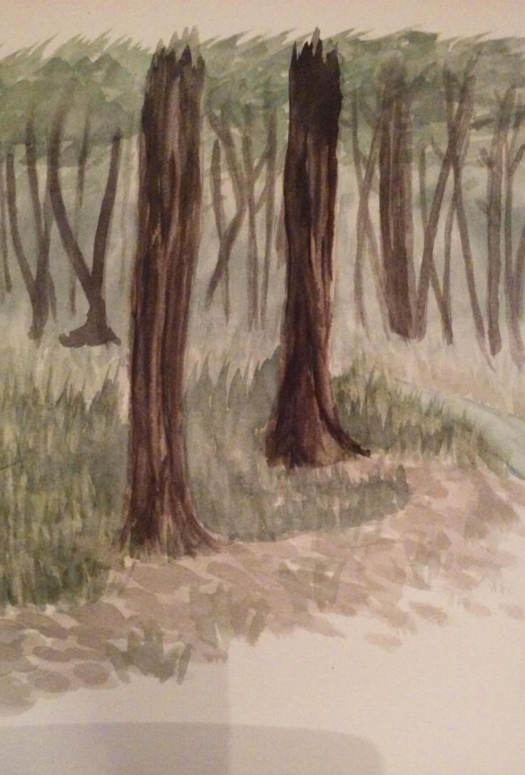 Watercolor Woods by NightFlash02
