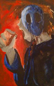 Eyeless Jack painting