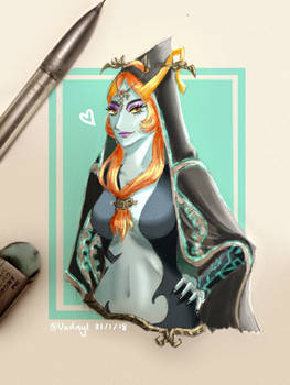 Midna Sketch