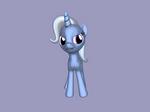 3D Pony Trixie Lulamon by kasumaky