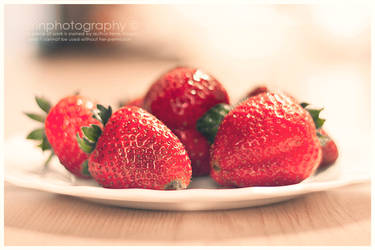 Straw-Berries by Airini