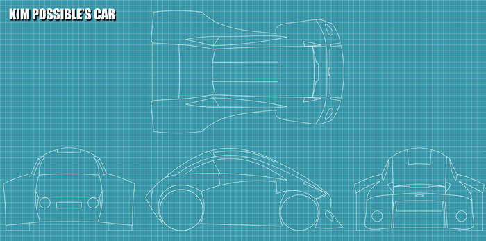 Kim Possible's Car - BluePrint (Alfa version)