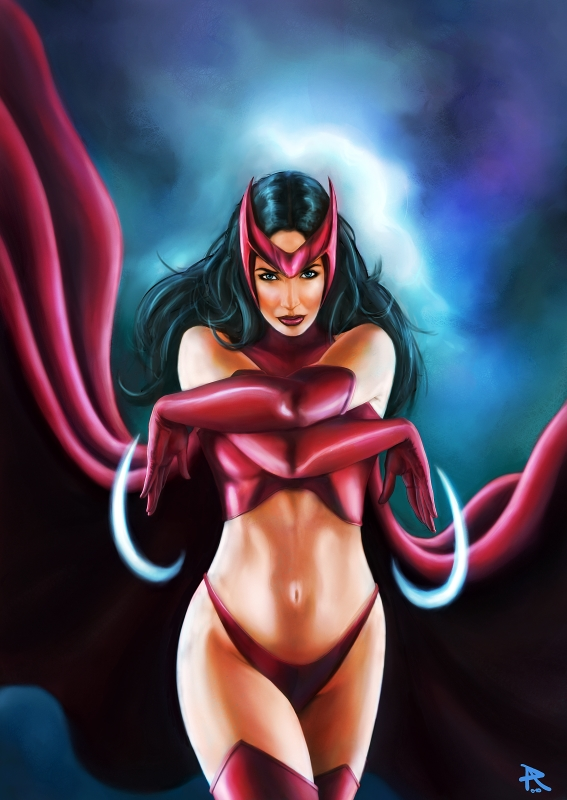 Scarlet Witch by PierluigiAbbondanza